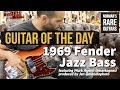 Guitar of the Day: 1969 Fender Jazz Bass Sunburst | Norman's Rare Guitars