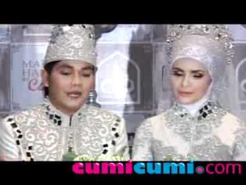 Resepsi Pernikahan Indra Bekti & Dilla Suguhkan Drama Musikal - CumiCumi.com
