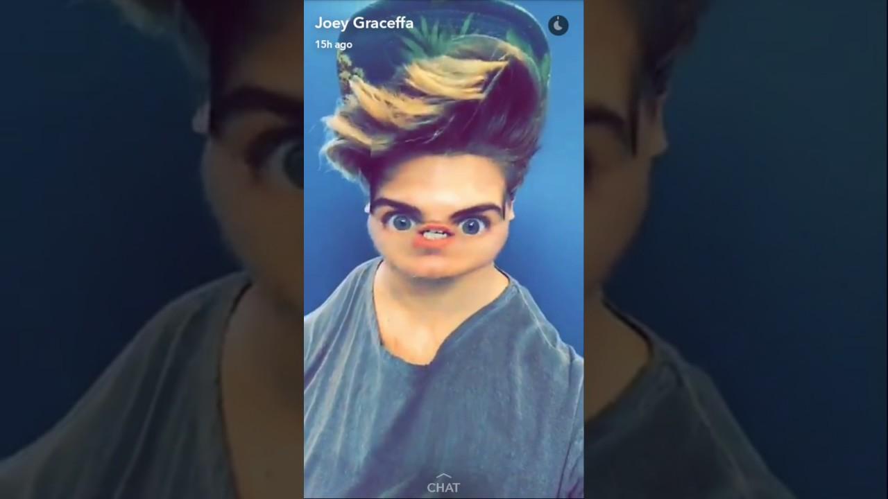 Joey graceffa snapchat