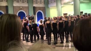 TDA Zelta sietiņš 55 gadu jubilejas koncerts (30.11.2013). JUBILARU SVEIKŠANA - 00091-93