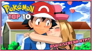 One of Jethrotex's most viewed videos: Top 10 Reasons Ash and Serena Should Date | Ash x Serena OTP Pokémon XYZ