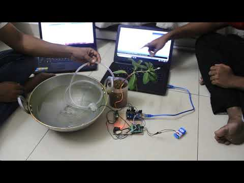 Smart Irrigation System using IoT - Project assignment for Skyfi Labs  online course-by MRINMAY SAHA