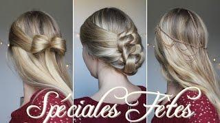 ★  3 coiffures faciles pour Noël ! Thumbnail