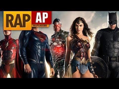 Rap da Liga da Justiça Justice League  Feats Desc  Rap Tributo