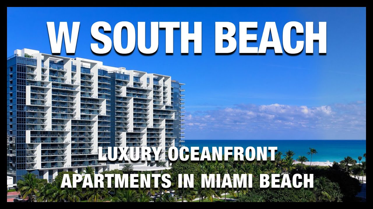 South Beach Collins Avenue Oceanfront Hotels