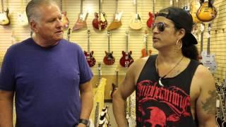 Slash stops by Norman's Rare Guitars