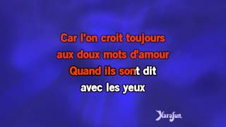 Karaoké Mon amant de St Jean - Patrick Bruel *