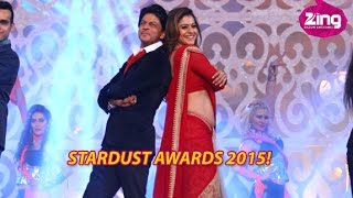 Watch Ranveer And SRK In A Hilarious Avatar At Stardust Awards