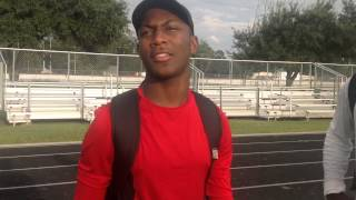 Roderic Burns 2018 RB Lamar High School