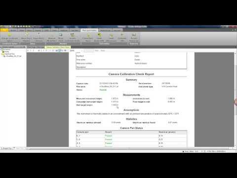V10 Camera Calibration Check Report