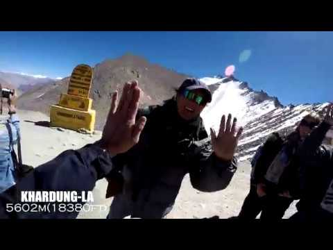 LADAKH Backpack Travel 2017 (GoPro HD 1080i)