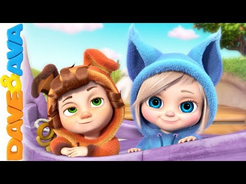 😜 Nursery Rhymes and Kids Songs | Dave and Ava 😜