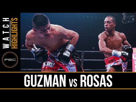 Guzman Vs Rosas FULL FIGHT: April 29, 2016 - PBC On Spike