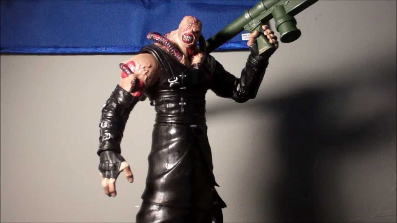 Palisades Resident Evil 3 Nemesis Action Figure Closed Mouth