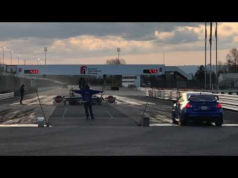 New Subaru Pump Gas World Record 10.37 @ 134mph