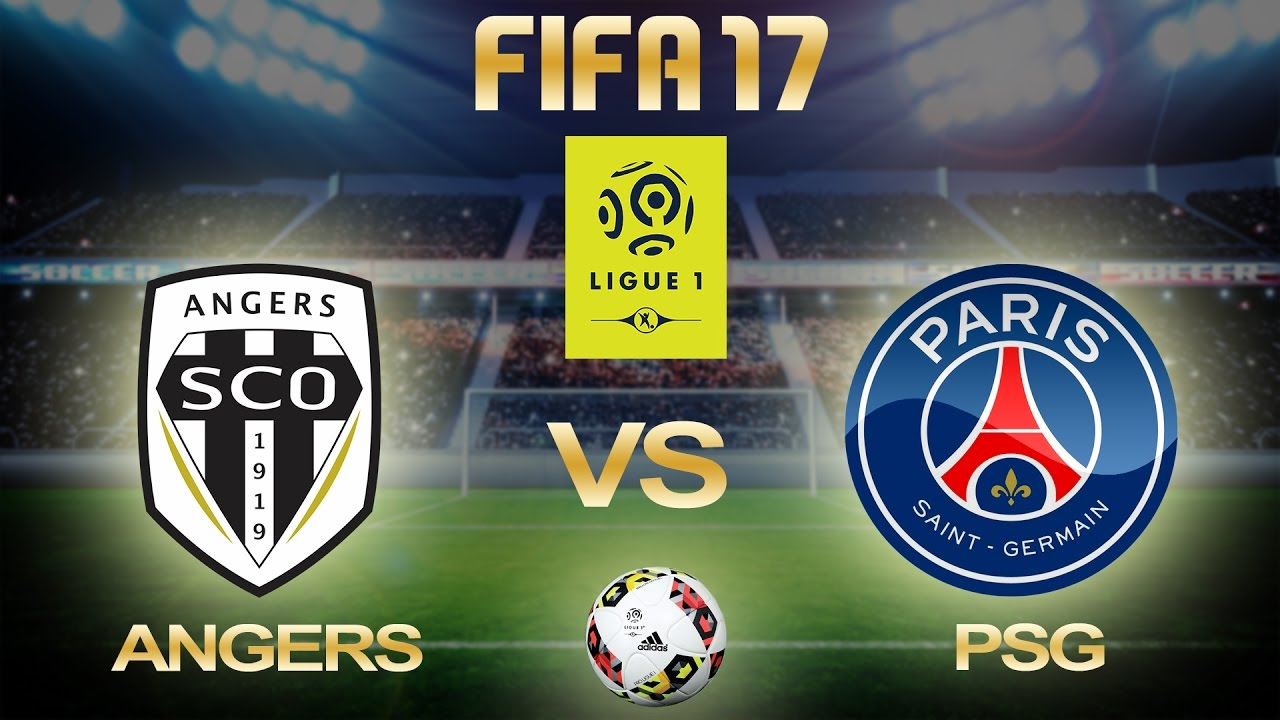 FIFA 17 | Angers Vs PSG | Ligue 1 2016/17 | Week 33 | PS4 ...