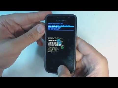 Samsung Galaxy S I9000 hard reset