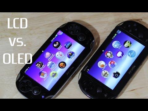 PS Vita Screen Comparison (PCH-2000 LCD vs  OLED Vita)