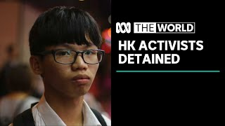 Student activist leader detained in Hong Kong outside US consulate | The World