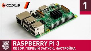 Raspberry Pi 3: огляд, перше включення, настройка – Частина 1