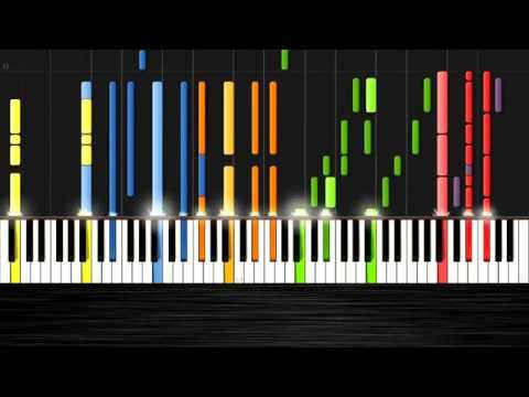 Ariana Grande - Problem ft. Iggy Azalea - IMPOSSIBLE REMIX by PlutaX - Synthesia - Piano