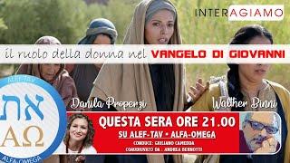Il ruolo della donna nel vangelo di Giovanni #1 - conduce Giuliano Camedda