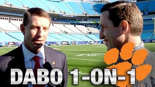 Dabo Swinney 1-on-1 Before ACC Championship Game