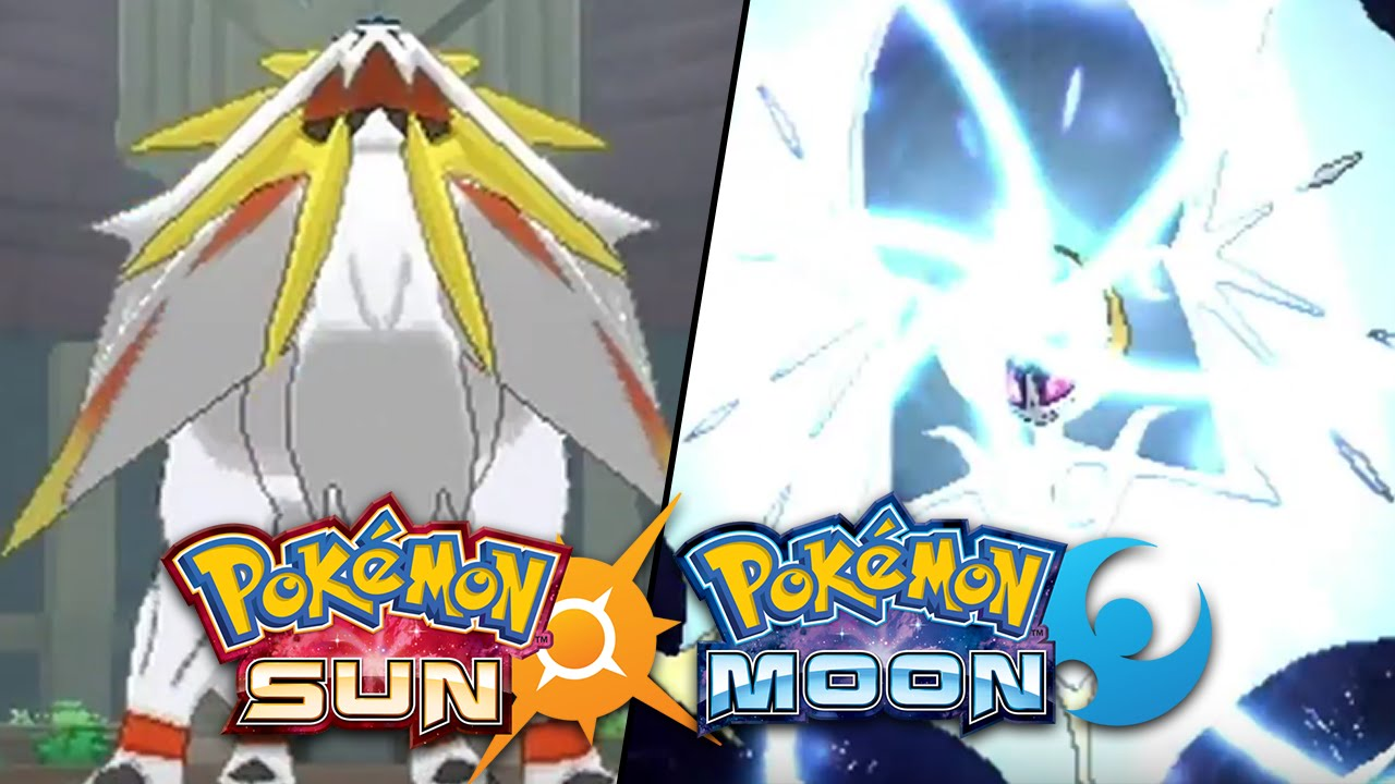 Pokemon sun moon legendary pokemon solgaleo lunaala thoughts youtube - Pokemon platine legendaire ...