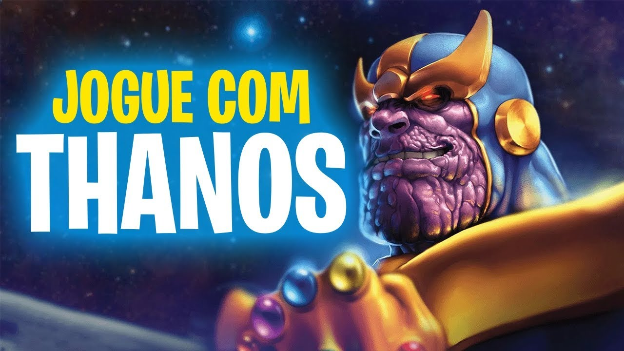 JOGAR COM O THANOS DO FILME VINGADORES?? | Fortnite Battle Royale