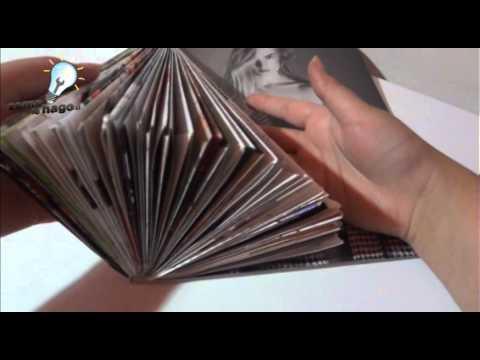Como hacer un arbol de navidad con papel de revistas
