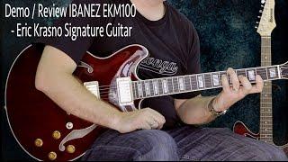 ibanez ekm100 eric krasno guitar demo review
