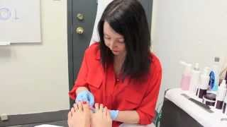 medical pedicure