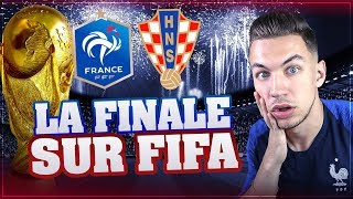 JE SIMULE LA FINALE DE CDM SUR FIFA ! FRANCE CROATIE !