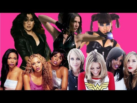 Top 100 Pop Girl-Group Songs...