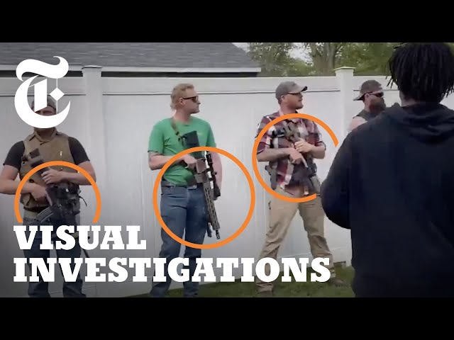How U.S. Police Took a Hands-Off Approach to Armed Groups in 2020 | NYT - Visual Investigations