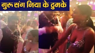 nia-sharma-groove-with-guru-randhawa-on-suit-suit-karda-song-watch-viral-filmibeat