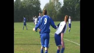 Reality FC Vs Hillingdon Park Rangers 16/10/11 - serious descipline issues arise