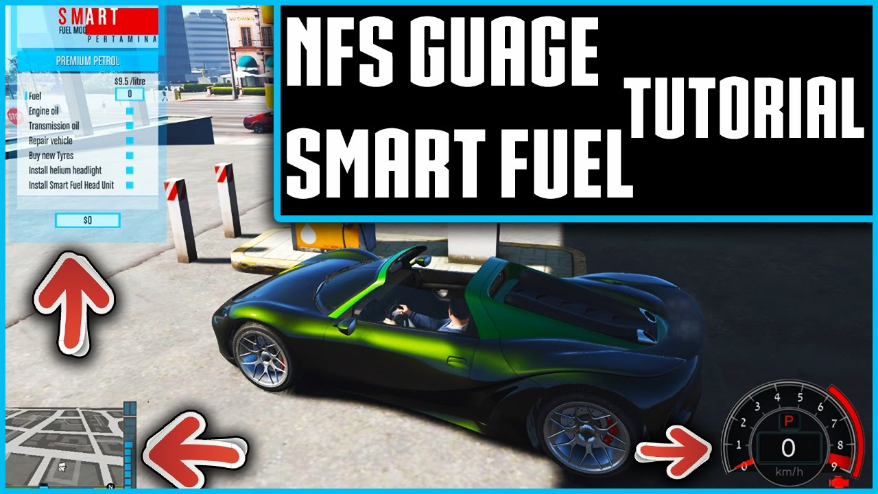 How to install Smart Fuel Mod and NFS gauge [simple tutorial]