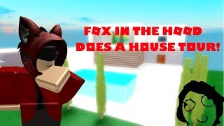 "The Red ""Fox in the Hood"" does a House Tour! 