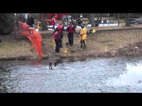 Palos Heights Fire Department Dive Rescue Training