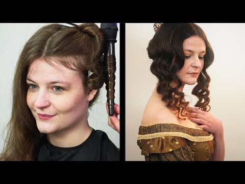 Historical Styles - Victorian (1860s) Hair and Make-up Tutorial