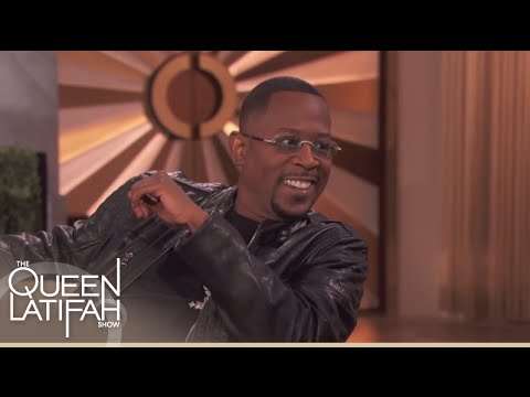 Martin Lawrence Is Quite A Character | The Queen Latifah Show