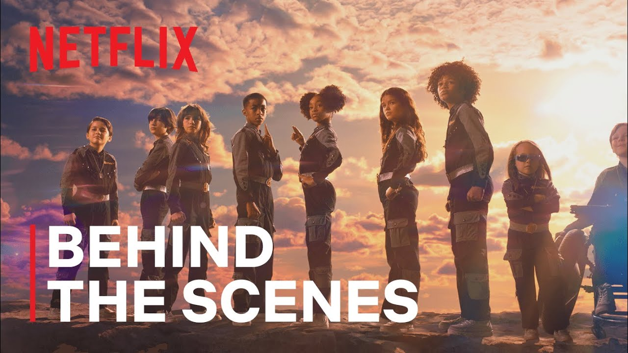Download Kids Do Their Own Stunts in We Can Be Heroes | Netflix Futures