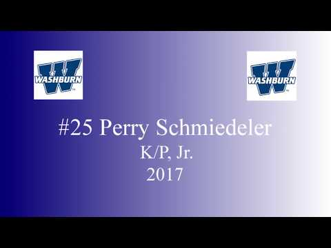 2017 Perry Schmiedeler kicker/punter highlights