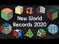 NUEVOS RÉCORDS MUNDIALES del CUBO de RUBIK 2020 | WRs Speedcubing WCA
