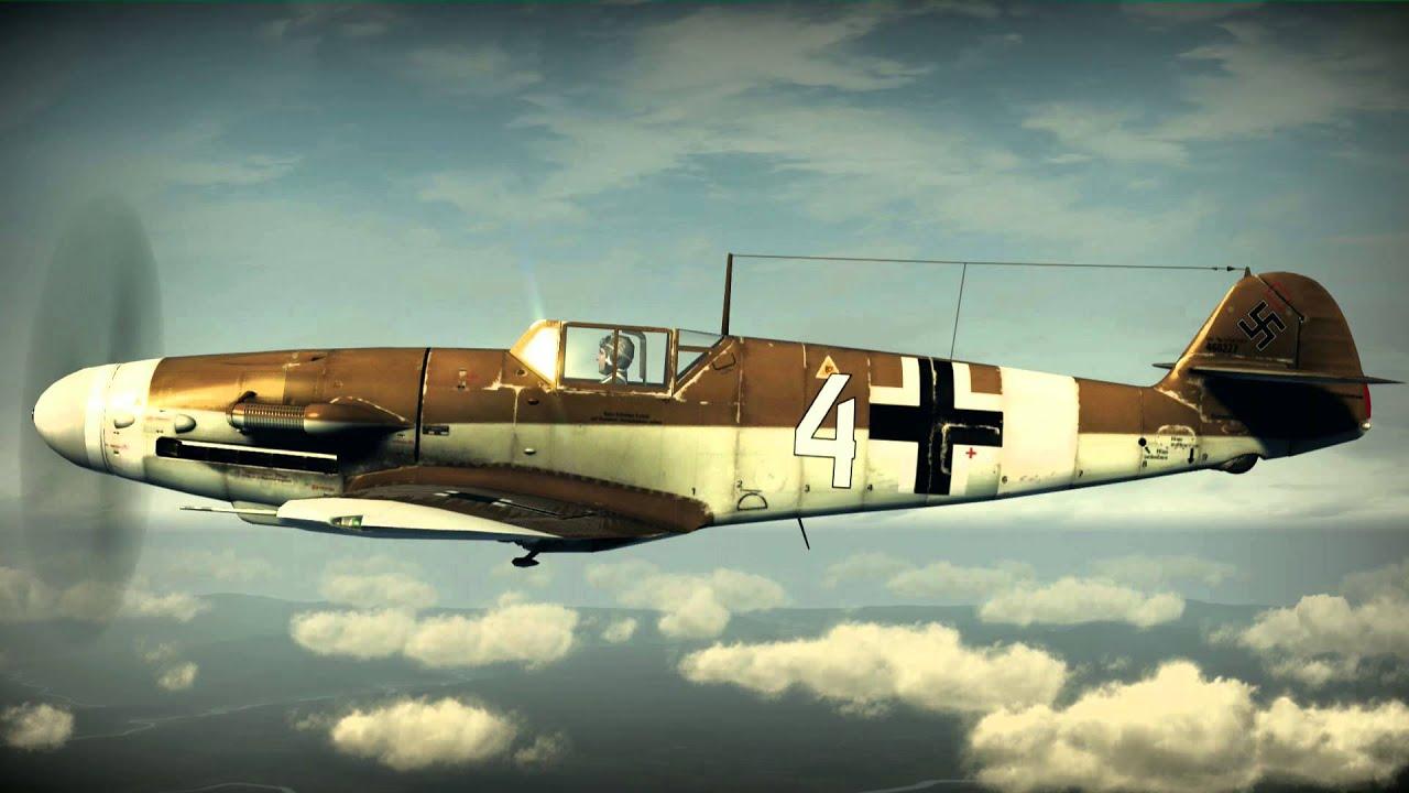 Messerschmitt Me 109 Bf Sound Mg Sound Youtube