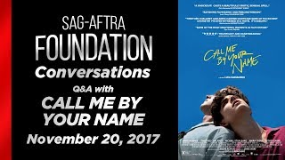 Conversations with CALL ME BY YOUR NAME