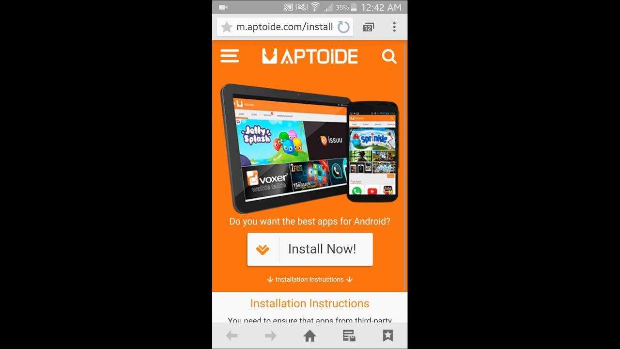 Aptoide free download for laptop windows 10