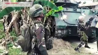 Philippine army 2nd Mechanized battalion in combat operation