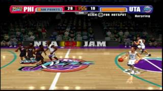 JAM Tournament - NBA JAM (Xbox) gameplay